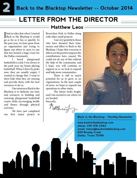 Newsletter (pg.2)